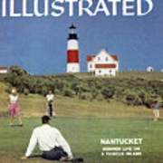 Nantucket Island Golf Sports Illustrated Cover Poster