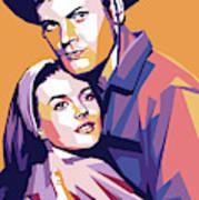 Natalie Wood And Tab Hunter Poster