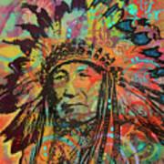 Native American V Poster