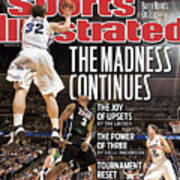 Ncaa Basketball Tournament - Third Round - Denver Sports Illustrated Cover Poster