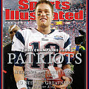 New England Patriots, Super Bowl Xxxix Champions Sports Illustrated Cover Poster