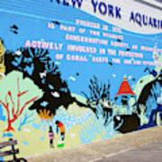 New York Aquarium, Coney Island, Brooklyn, New York Poster
