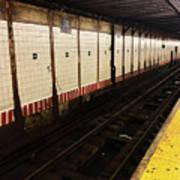 New York City Subway Line Poster
