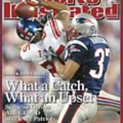 New York Giants David Tyree, Super Bowl Xlii Sports Illustrated Cover Poster