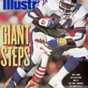 New York Giants Ottis Anderson, 1991 Nfc Championship Sports Illustrated Cover Poster