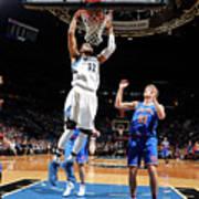 New York Knicks V Minnesota Timberwolves Poster