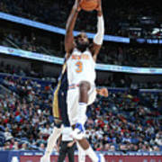 New York Knicks V New Orleans Pelicans Poster