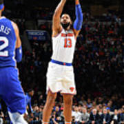 New York Knicks V Philadelphia 76ers Poster