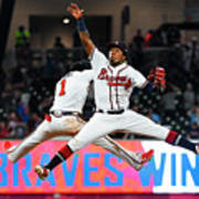 New York Mets V Atlanta Braves Poster