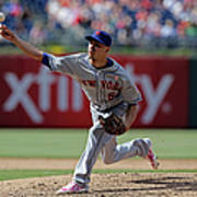 New York Mets V Philadelphia Phillies Poster