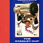 New York Rangers Mark Messier, 1994 Nhl Stanley Cup Finals Sports Illustrated Cover Poster