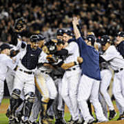 New York Yankees Celebrate After Poster
