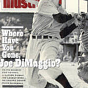 New York Yankees Joe Dimaggio... Sports Illustrated Cover Poster
