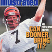 Nfl Preseason Report Can Boomer Bring It Sports Illustrated Cover Poster