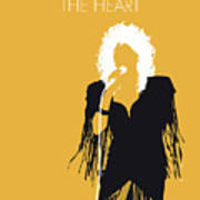 No264 My Bonnie Tyler Minimal Music Poster Poster
