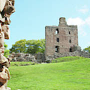 Norham Castle Tower Poster