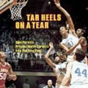 North Carolina Sam Perkins, 1982 Ncaa East Regional Playoffs Sports Illustrated Cover Poster
