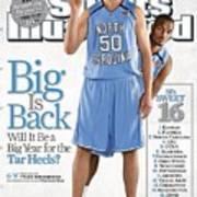 North Carolina Tyler Hansbrough And Reyshawn Terry Sports Illustrated Cover Poster
