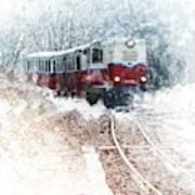 Northern European Train Poster