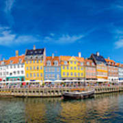 Nyhavn District Is One Of The Most Poster