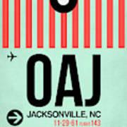 Oaj Jacksonville Luggage Tag I Poster