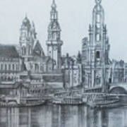 Old City Of Dresden- Dresden Poster