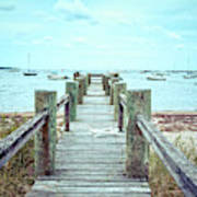 Old Dock Hyannis Port Cape Cod Ma Poster