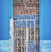 Old Door In Havana Poster