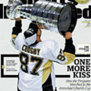 One More Kiss How The Penguins Marched To The Franchises Sports Illustrated Cover Poster