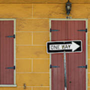 One Way, Love Poster