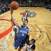 Orlando Magic V New Orleans Pelicans Poster