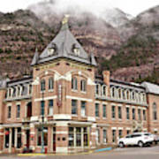 Ouray Colorado - Architecture - Hotel Poster