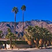 Palm Springs California Poster
