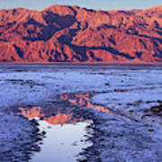 Panamint Reflection 2 Poster