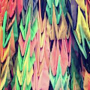 Paper Cranes Poster