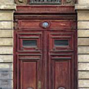 Paris Door Poster