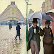 Paris Street In Rainy Weather - Digital Remastered Edition Poster