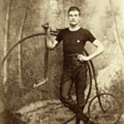 Penny Farthing - High Wheel - Ordinary   Poster