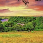 Petersham Landscape Poster