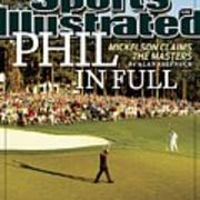 Phil Mickelson, 2010 Masters - Final Round Sports Illustrated Cover Poster
