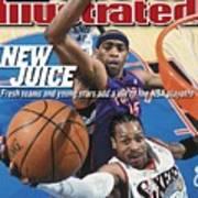 Philadelphia 76ers Allen Iverson, 2001 Nba Eastern Sports Illustrated Cover Poster