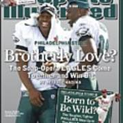 Philadelphia Eagles Qb Donovan Mcnabb And Terrell Owens Sports Illustrated Cover Poster