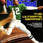 Philadelphia Eagles Qb Randall Cunningham, 1989 Nfl Sports Illustrated Cover Poster