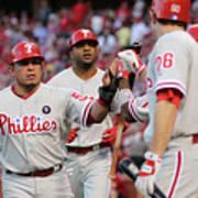 Philadelphia Phillies V St Louis Poster