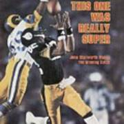 Pittsburgh Steelers John Stallworth, Super Bowl Xiv Sports Illustrated Cover Poster