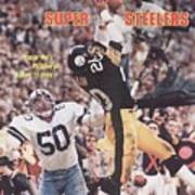 Pittsburgh Steelers Rocky Bleier, Super Bowl Xiii Sports Illustrated Cover Poster