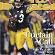 Pittsburgh Steelers Troy Polamalu, 2009 Afc Championship Sports Illustrated Cover Poster