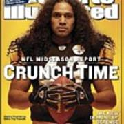 Pittsburgh Steelers Troy Polamalu Sports Illustrated Cover Poster