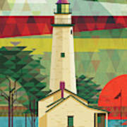 Point Aux Barques-michigan  Poster