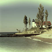 Point Betsie Lighthouse 2 Poster